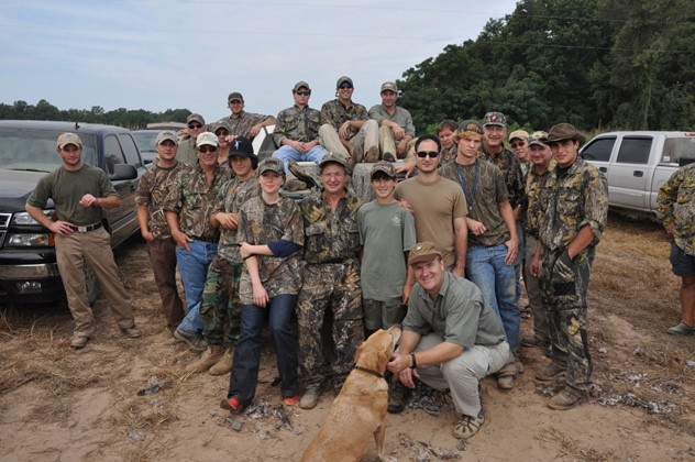 Dove Hunting: 7am - 8am