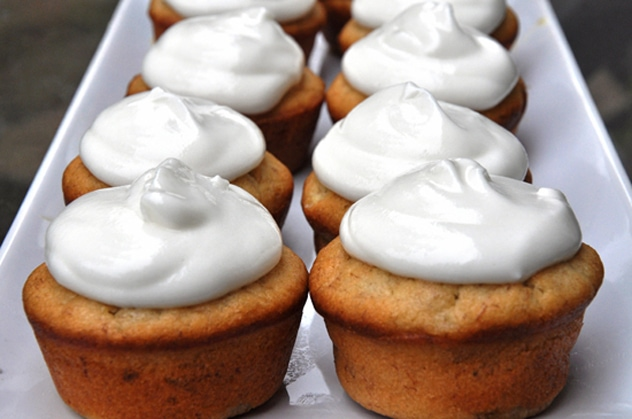 Bananas Foster Cupcakes, (a.k.a. The Nielsen Ratings for Food)