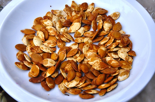 """Roasted Pumpkin Seeds"""