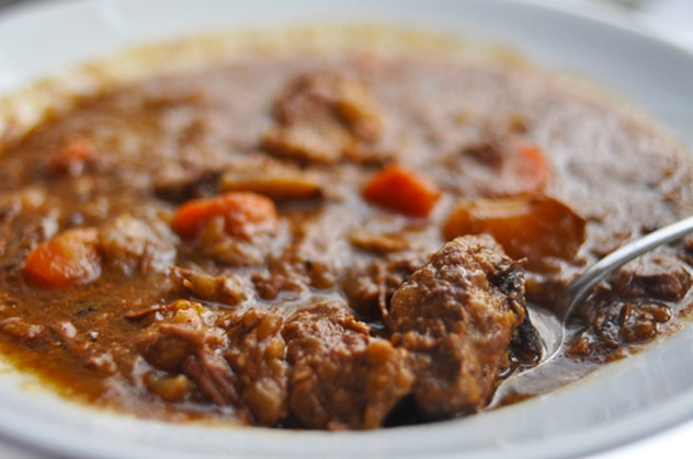 """Moroccan Lamb and Beef Stew"""