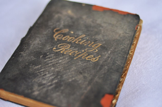 My Great Great Grandmothers Recipe Book