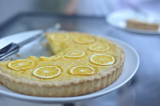 """Meyer Lemon Tart"""