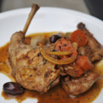Braised Rabbit with Olives and Preserved Lemon