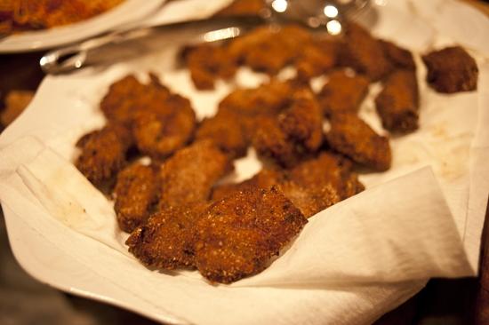 Fried Venison Cutlets & Campfire Eating