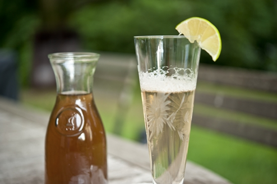"""Homemade Elderflower Syrup"""