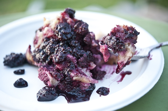 """Dewberry Bread Pudding"""