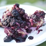 Dewberry Bread Pudding