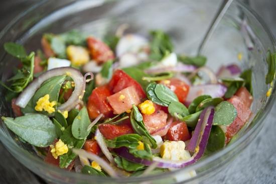 Image result for purslane salad hd