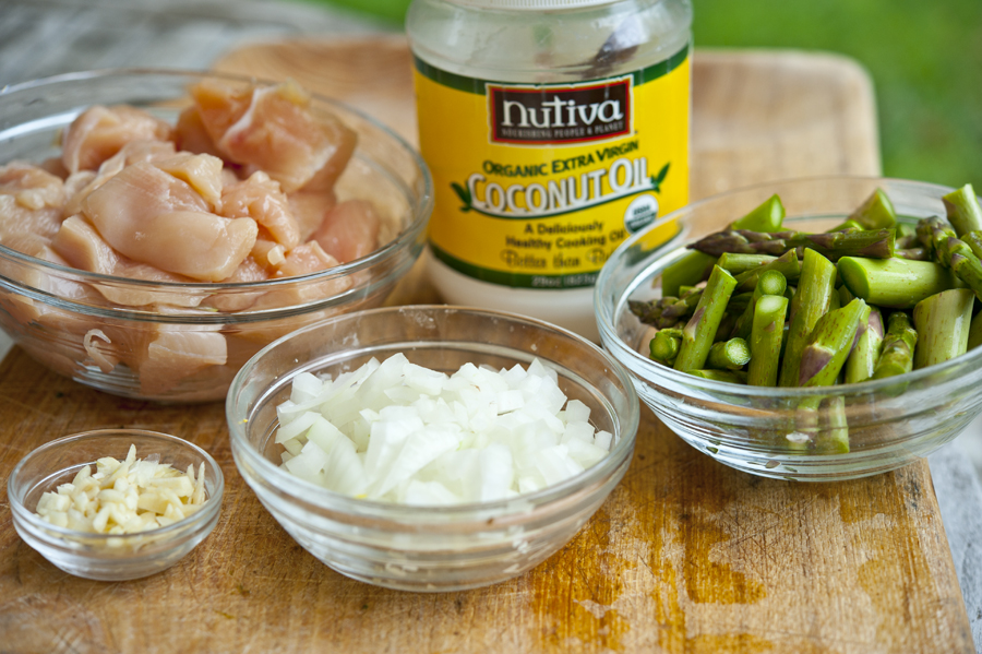 how to cook chicken with coconut oil