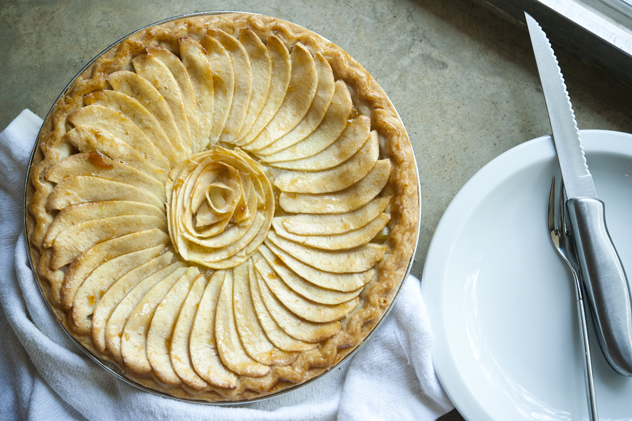 French Apple Tart Georgiapellegrini Com