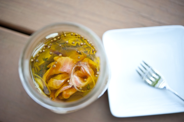 Homemade Gift: Preserved Salmon in a Jar