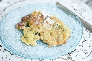 Elderflower Fritters