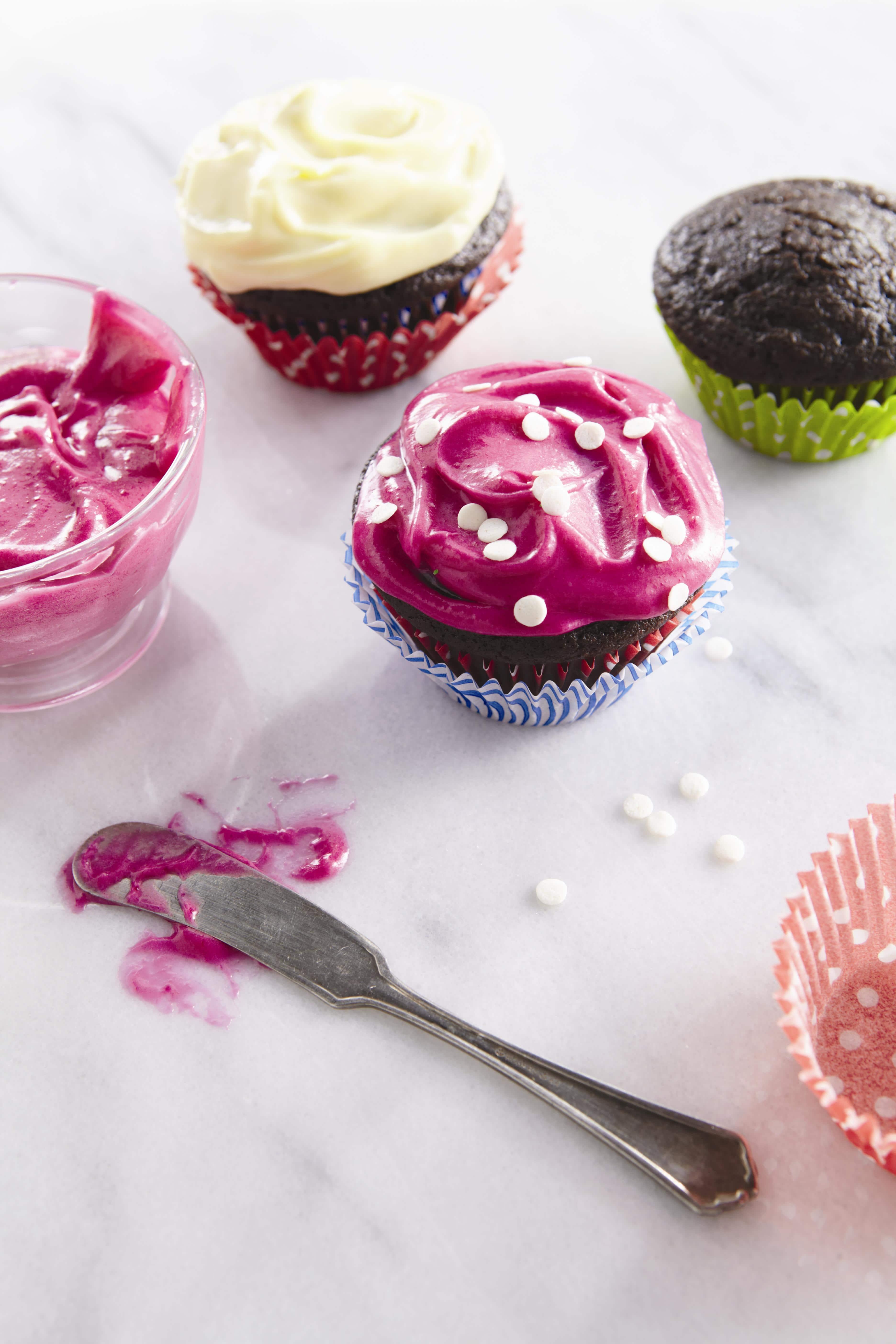"""Chocolate Velvet Beet Cupcakes"""