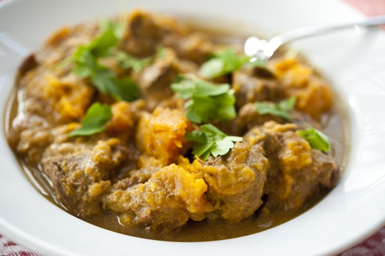 """Venison Curry Stew"""