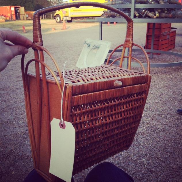 Audrey Hepburn Always Carried a Basket Purse