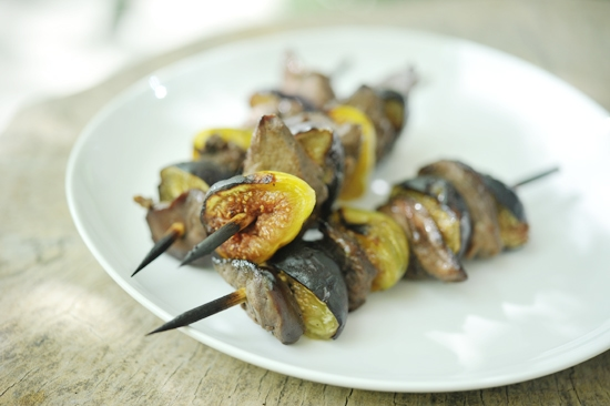 """Dove & Fig Kabobs"""