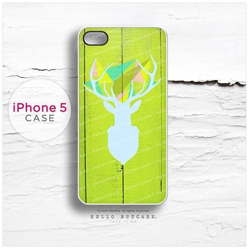 iphone-5-and-iphone-5s-case-stag-deer-elk-on-wood-print-n33