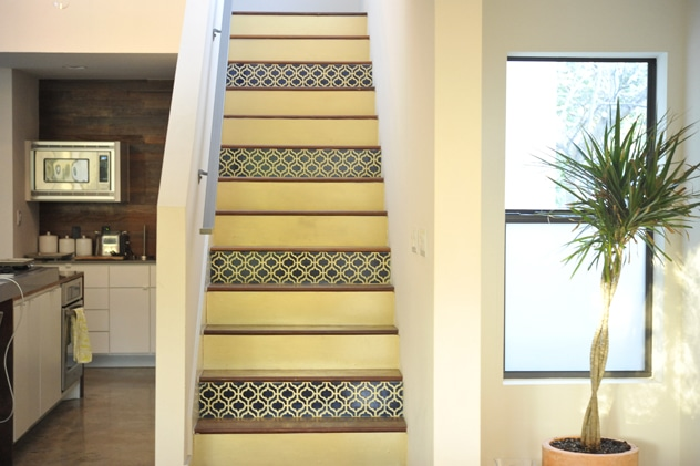 How to Stencil Your Staircase