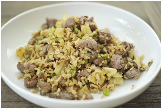 """Duck Fried Rice"""