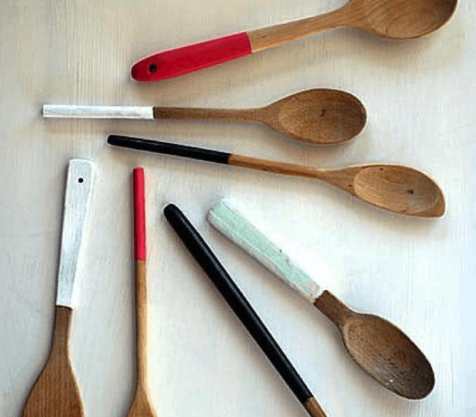 dipped utensils