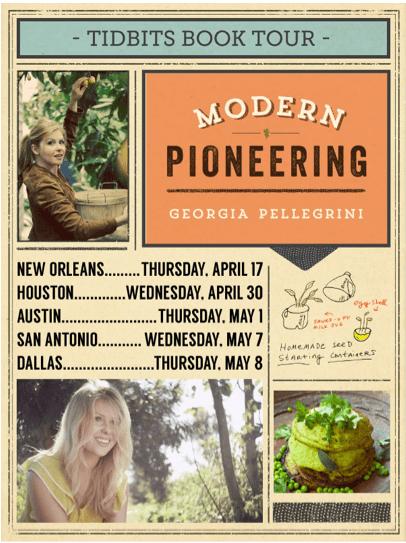 Modern Pioneering Book Tour Schedule