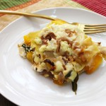 Three Cheese Pumpkin Lasagna
