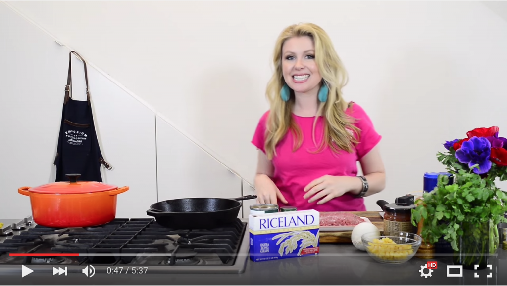 Video: Riceland Mexican Rice Skillet