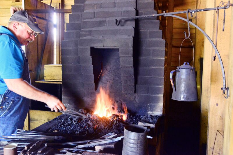Meet the Modern Pioneers: Blacksmith Lin Rhea