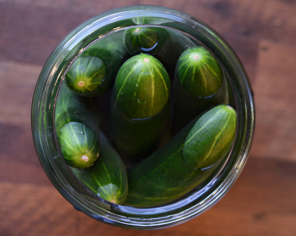 The Best Fall Gourmet Pickles Recipe