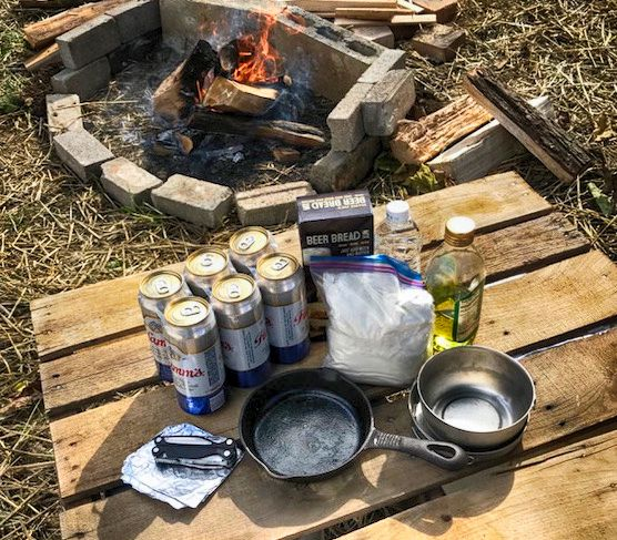 How to Bake Bread In A Beer Can