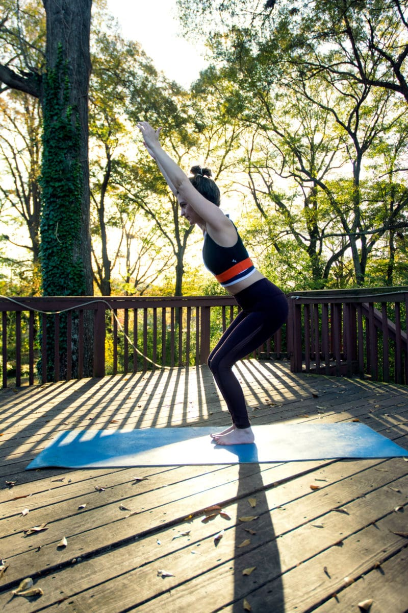 5 Yoga Moves To Do While Traveling