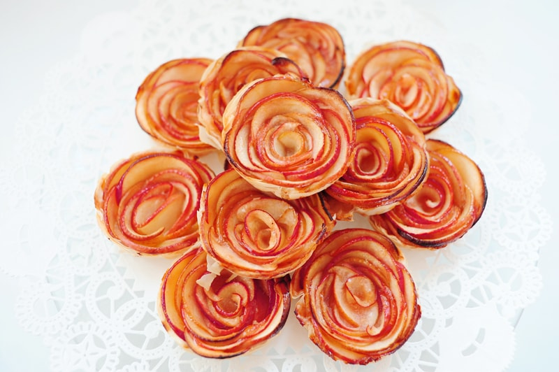 Apple Rose Hand Pies