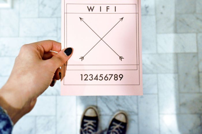 How to Prepare for Houseguests + Free Wifi Printable