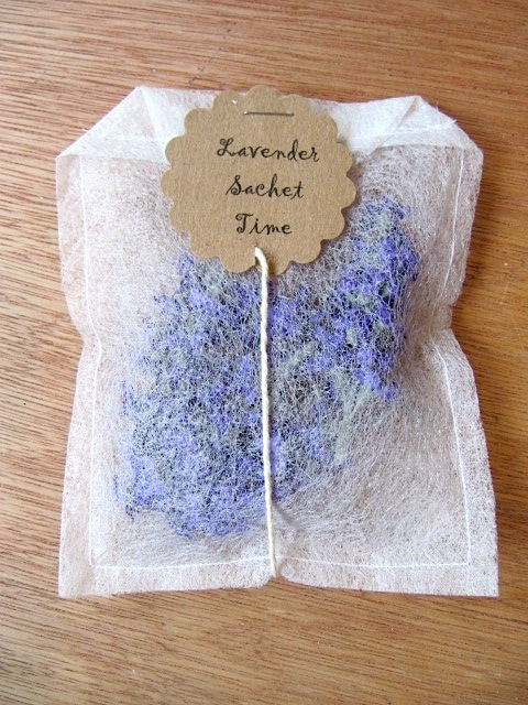 Homemade Dryer Sheet Sachet
