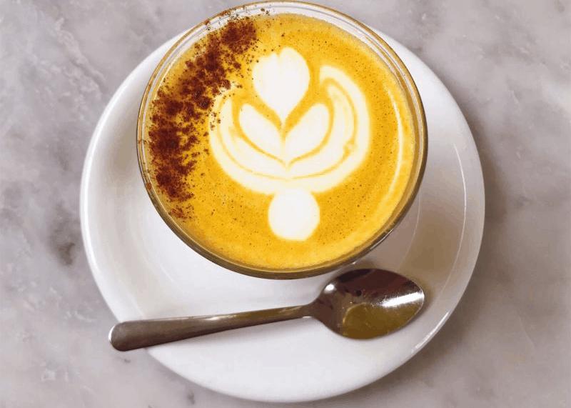At Home Turmeric Latte