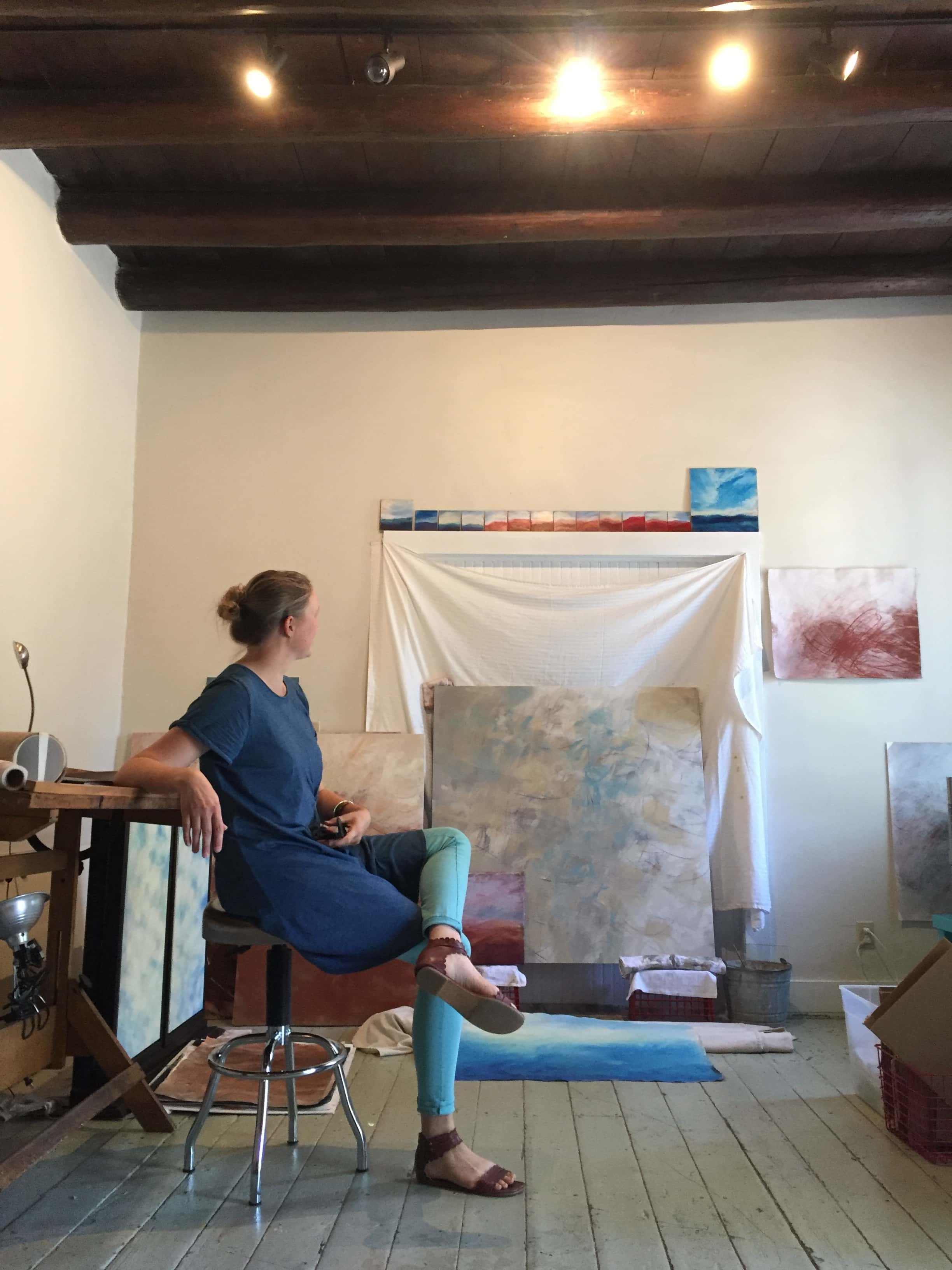 Coffee With: Artist Anna Booth