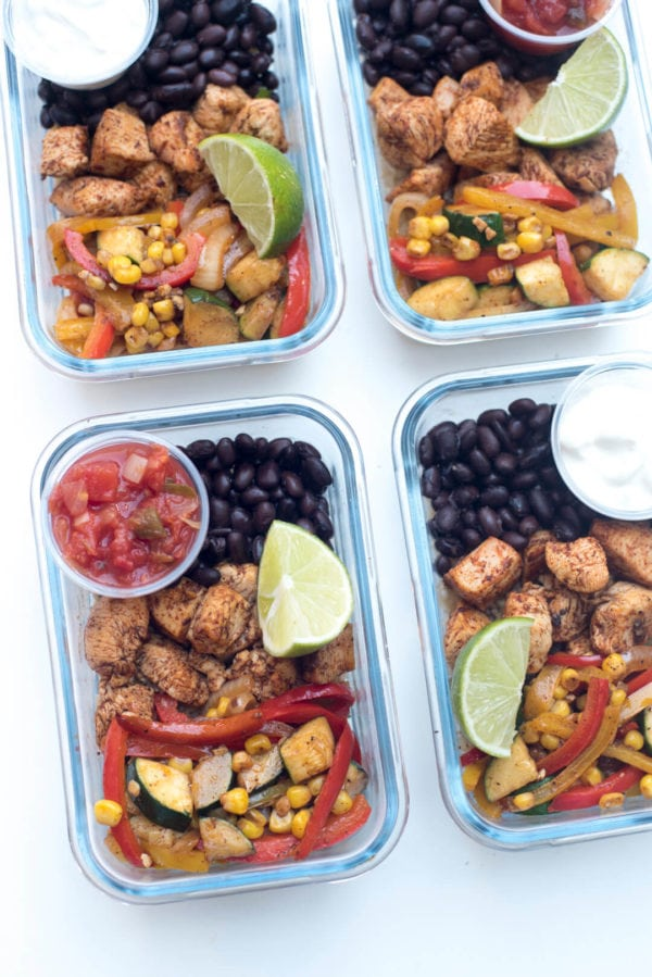 Healthy Packable Lunches + Free Meal Prep Printable