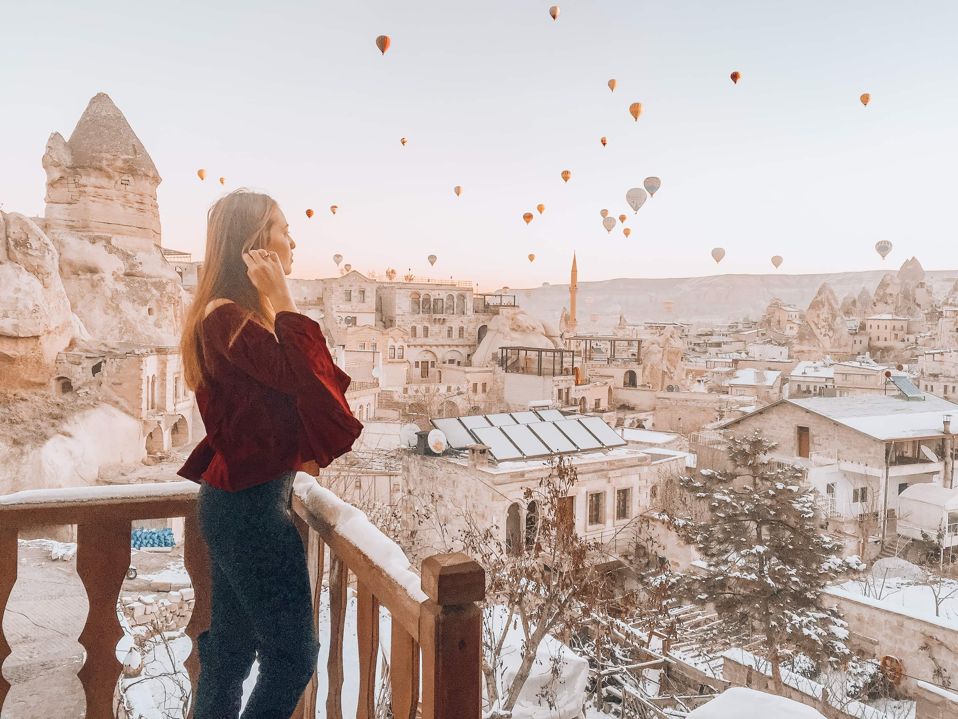 I went Hot Air Ballooning in Cappadocia during the off-season, here's how it went