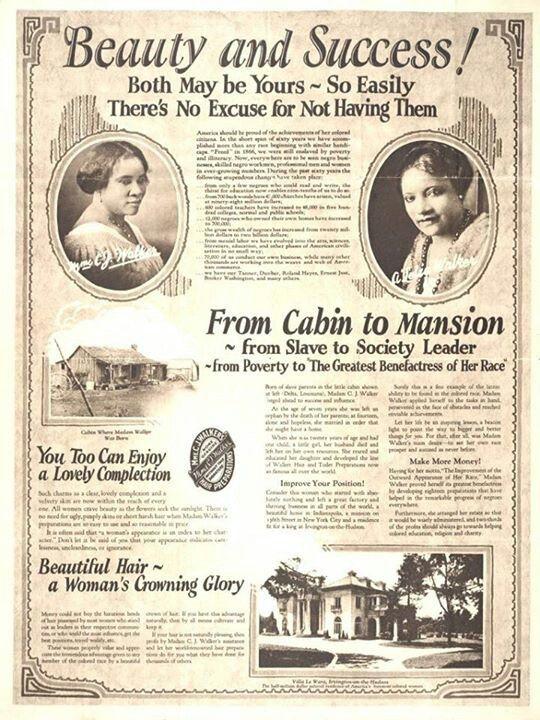 Great Women in History: Madam C.J. Walker