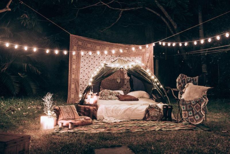 How to Backyard Glamp