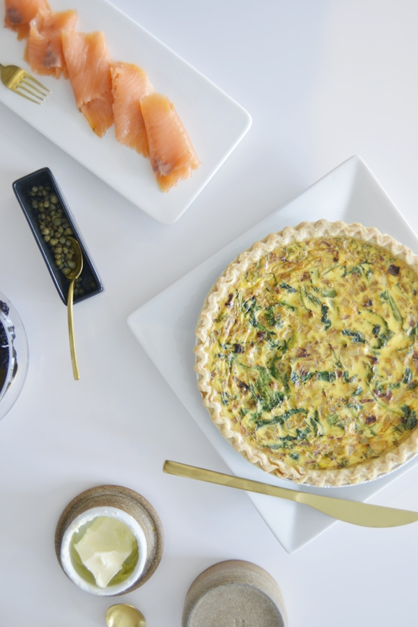Easy Homemade Quiche