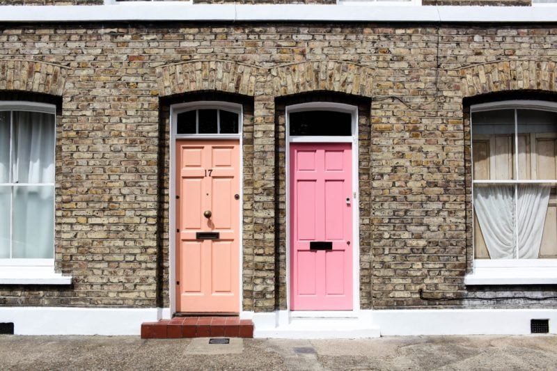 How To Pick The Right Front Door Color For Your House