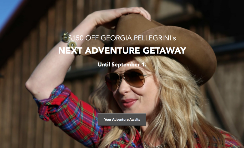 Georgia-Pellegrini-Texas-Adventure-Getaway