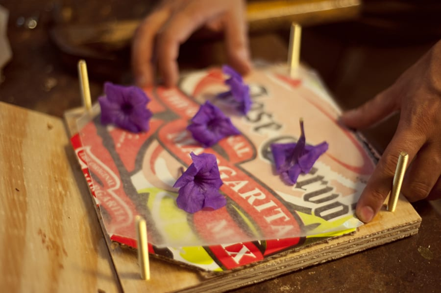 How to Make a Flower Press and Dry Flowers