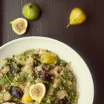 Fig and Quinoa Salad with Lemon Vinaigrette