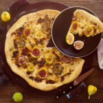 Fresh Fig, Fontina and Thyme Pizza