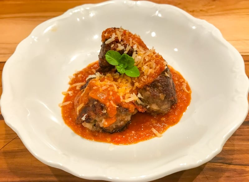 Italian Style Venison Meatballs - adapted from 'The Food Lab' by J. Kenji López-Alt