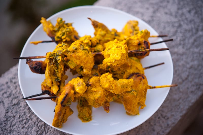 Quail Kebabs
