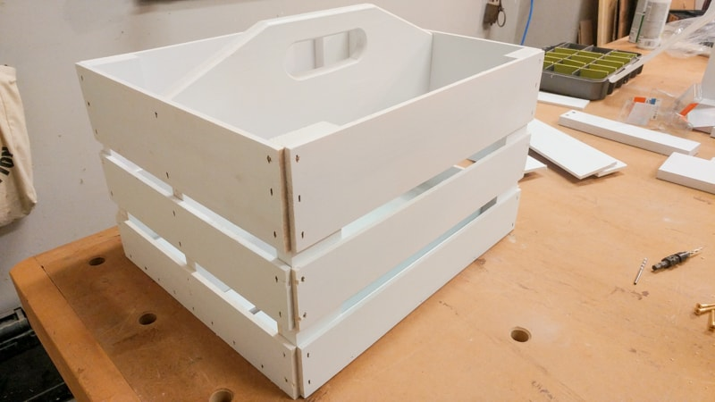 DIY Garden Tool Caddy Instructions Step by Step