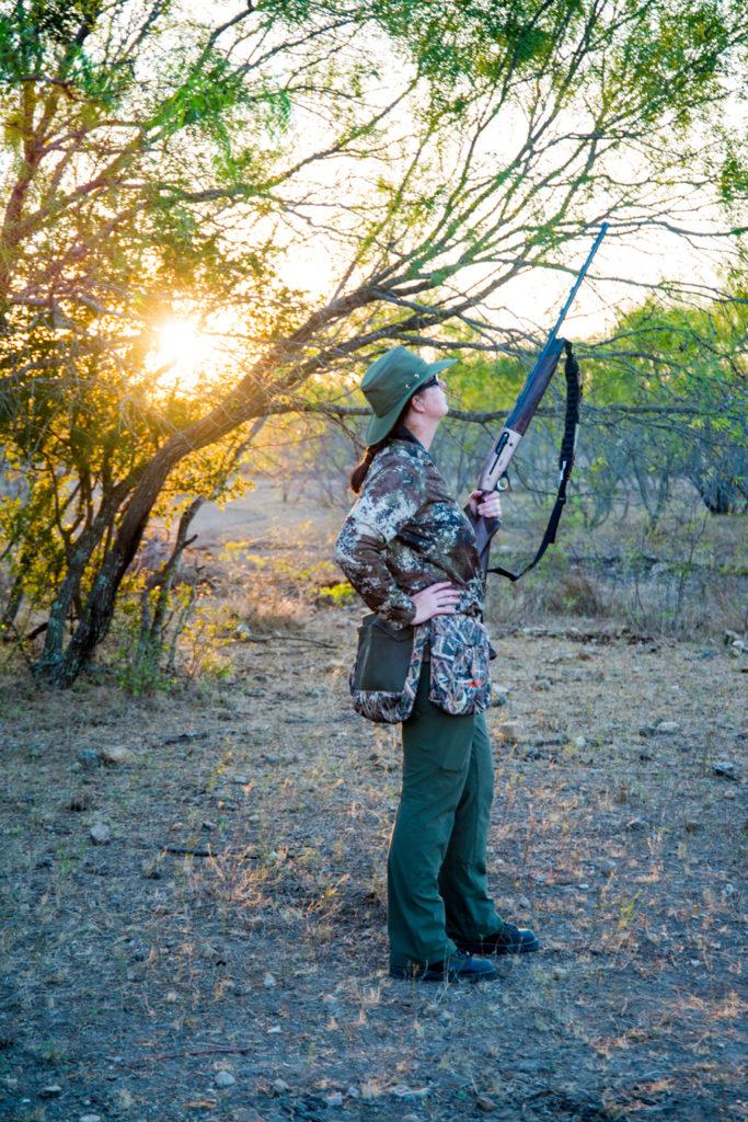Georgia Pellegrini Dove Hunting Adventure Getaway Texas